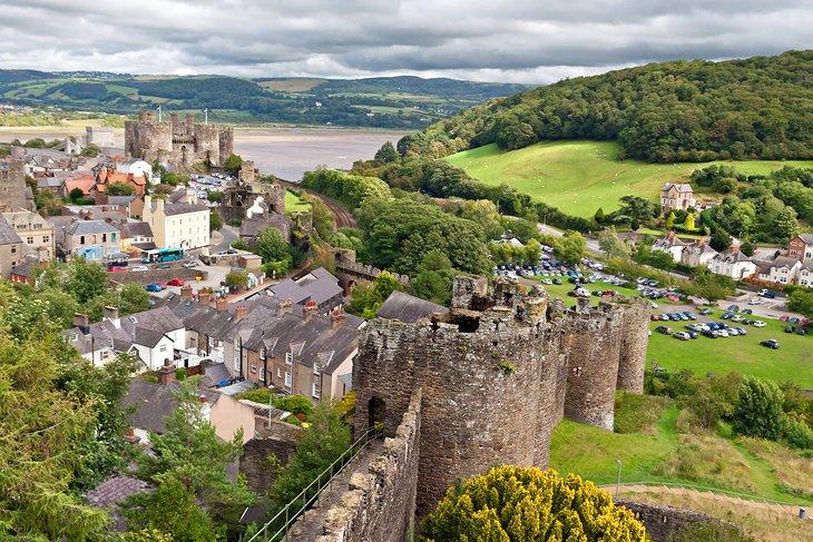 Conwy & Conwy Castle
