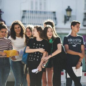 Group of kids in Cádiz
